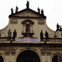 Плакат в центре Праги. Как-то обидно!((( :: Ирина Бирюкова