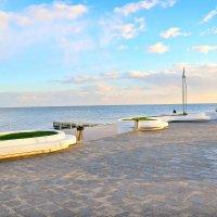 """Одесский пляж """"Аркадия"""" в ноябре. :: Михаил Столяров"""