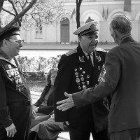 Встреча однополчан - моряков. :: Николай Кондаков