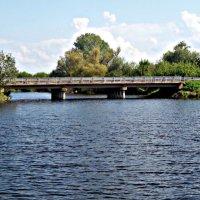 Река и мост :: Татьяна Королёва