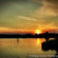 Andrushivka. Red Hill. Staskova dam. Sunset. May 2014 :: Сергей Ионников