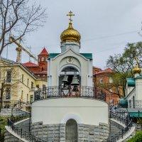Звонница храма Успения Божией Матери :: Александр Морозов