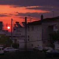 Восход солнца в Греции :: Юлия Емелина