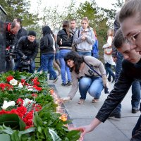 скорбь по погибшим в Одессе :: Евгений Фролов