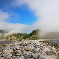 Охотское море. Туманные берега :: Galina