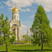 Храм святого вмч.Георгия Победоносца. :: Виктор Евстратов