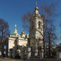 Церковь Николая Чудотворца в Кузнецкой слободе :: Александр Качалин