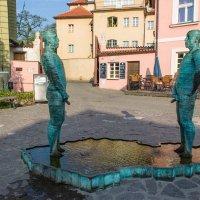 Прага. Скульптуры  Давида Черны. :: Надежда