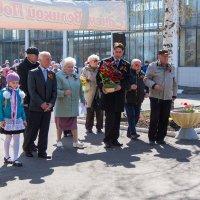 возложения цветов к памятнику :: Сергей Старовойт