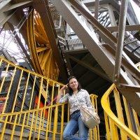 Портрет на лестнице :: Владимир Онищенко