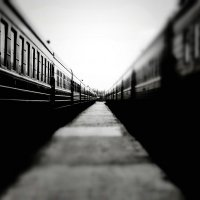 Вагонный коридор ... :: Дмитрий Призрак