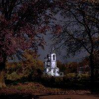 Лунная ночь в Вологде :: Валерий Талашов
