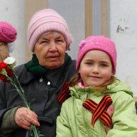 Прабабушка Кира и правнучка Арина. :: Андрей Вычегодский