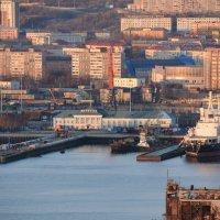 Морской вокзал. :: Сергей Зуев