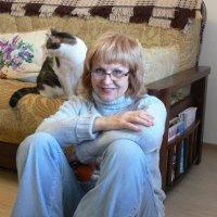 Портрет с котом или каждому своё место. :: Татьяна Черняева