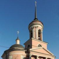 Церковь Иверской иконы Божией Матери (Георгия Победоносца) на Всполье :: Александр Качалин