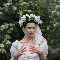 Это не невеста , а облачко )) :: Рома Фабров