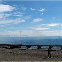 Пляж  отеля La Mer Art :: Валерий Викторович РОГАНОВ-АРЫССКИЙ