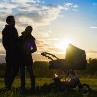 Семья на закате дня :: Владимир Буданцев