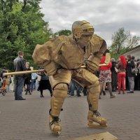 Ожившие статуи в Минске :: Светлана З