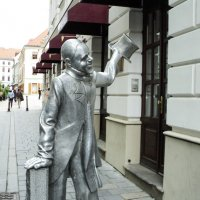 Братислава.Местный джельтельмен :: Сергей Шруба