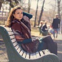 Фотосессия в парке :: Александр Ануфриев