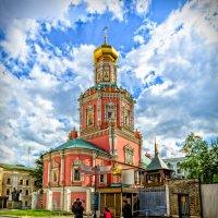 Собор Богоявленского монастыря в Чижовском подворье в Москве :: Игорь Иванов