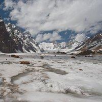 В памиро-алайских ледниках :: Евгения Стасеня