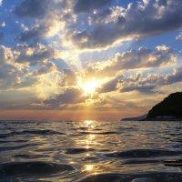 Закат на море :: Денис Стемпень