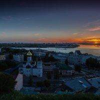 Н.Новгород. Закат. :: Максим Баранцев