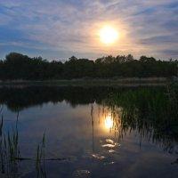 Ночное озеро.. :: Александр Герасенков