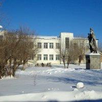 Богдан Хмельницкий в оренбургских снегах :: Евгений Алябьев