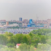 Самара Мост поезд и вокзал :: Арсений Корицкий
