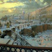 Диарама блокады Ленинграда :: Юлия Саблина