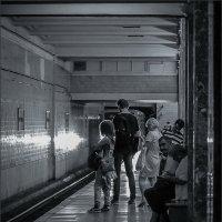 В метро :: Наталья Rosenwasser