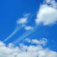 Странные облака,или ,,Вихри ...веют над нами!..,, :: Владимир Михайлович Дадочкин