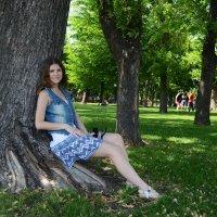 в парке ) :: Anastasia Pavlyukovskaya