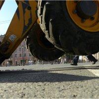 Это Вам не рука Москвы, а нога прораба. :: Михаил Палей