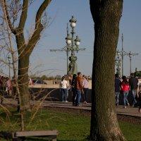 Вид на Троицкий мост :: Андрей Илларионов