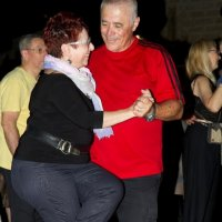 Танцы на исходе пятницы в старом городе Яфо Тель-Авив :: Владимир Сарычев