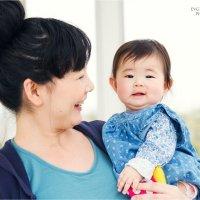 Очаровательные мама и дочка :: Евгения Лысцова