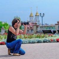 На съёмках. :: Анатолий Клепешнёв