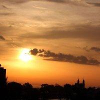 Рассвет после дождя :: Николай Щеглов