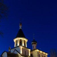Церковь в ночи :: Павел Белоус