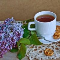 чашка чая :: Людмила Гофман