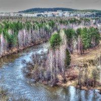 Весна на реке Туре :: Сергей Комков