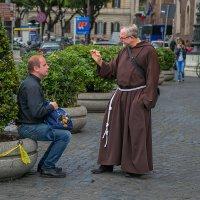 """""""Нельзя просто так взять и стать монахом."""" :: Лара Комплиментова"""