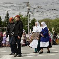Крестный ход в Новосибирске. Праздник Славянской писменности. :: Сергей Яценко