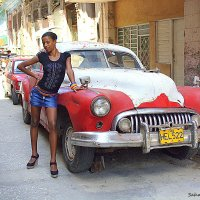 Girl and car :: Arman S