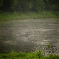 утро 27 мая, испарение над водой :: Михаил Жуковский